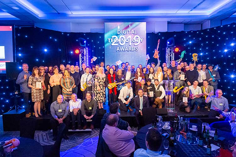 This year's winners at the Digital Technology Awards