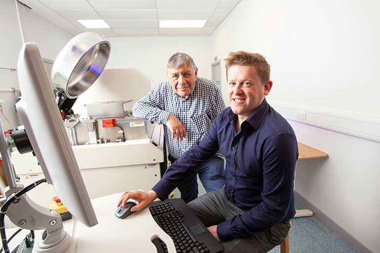 Left to right - Richard Cooper (founder and CEO) with Dave Hughes (founder and CTO)