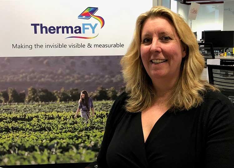 ThermaFY founder Amanda Pickford