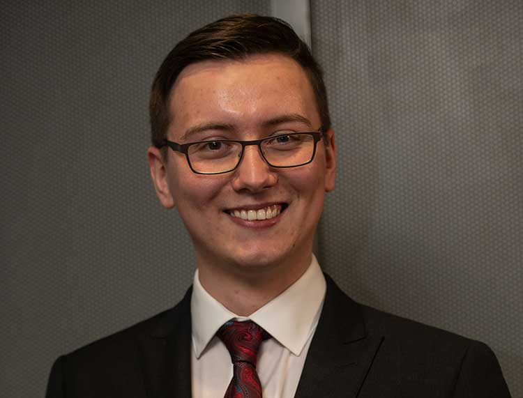 Stuart Adams has been named Young Software Engineer of the Year 2019